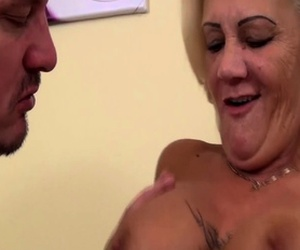 ugly stepmom hairy ass gets destroyed